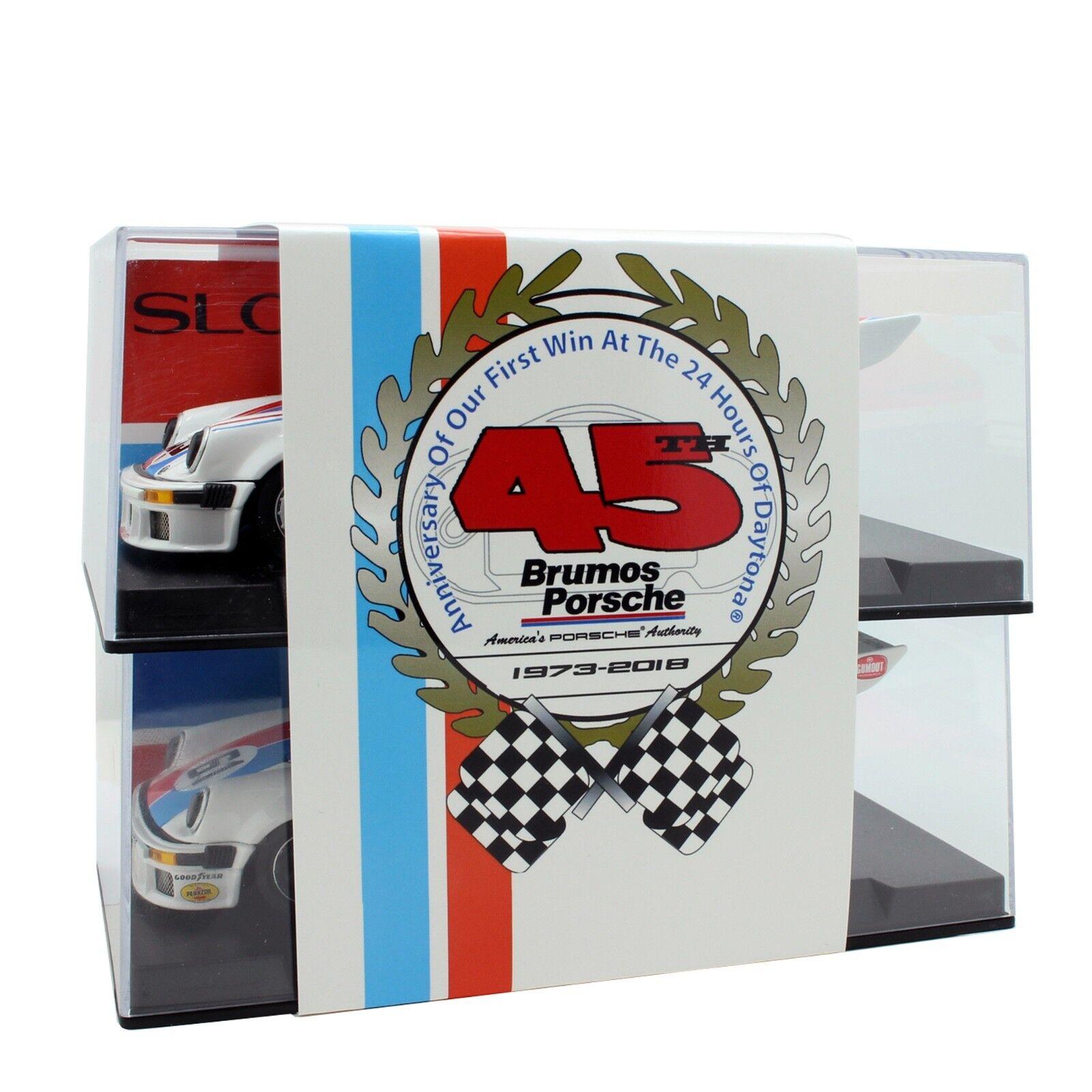 SLOTWINGS SET003 Special Edition Team Set Brumos Porsche 934 5 No.59 No.61 1 32    Berühmter Laden