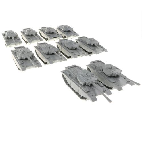 10 stücke Soldaten Spielzeug Army Base Armee Männer Zubehör Medium Tank