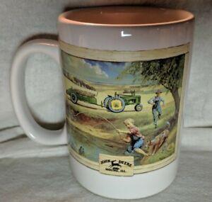 John-Deere-Mug-Houston-Harvest-Gift-Products-item-31058-Tractor-Moline-Illinois
