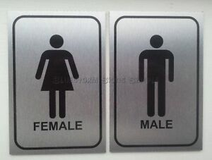 Image Is Loading Male And Female Toilet Door Sign Plaque Ideal