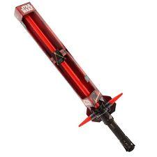 Star Wars Lightsaber Kylo Ren Ultimate FX Red Lights & Sound Toy Incl Batteries