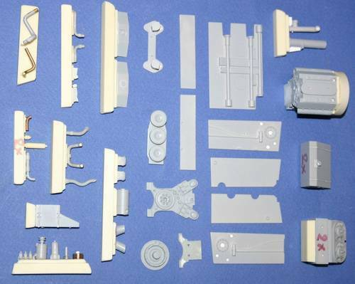 Czech Master 1 35 Tiger I - engine set for Tamiya kit