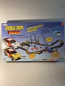 Artin Double Loops Dare Electric Powered Road Racing Track New In Box