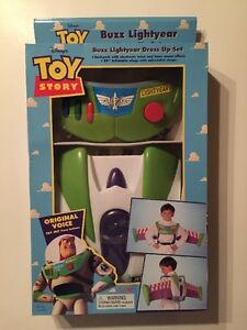 Disney's Toy Story Buzz Lightyear Dress Up Set Very Rare Thinkway Toys 1995 NIB