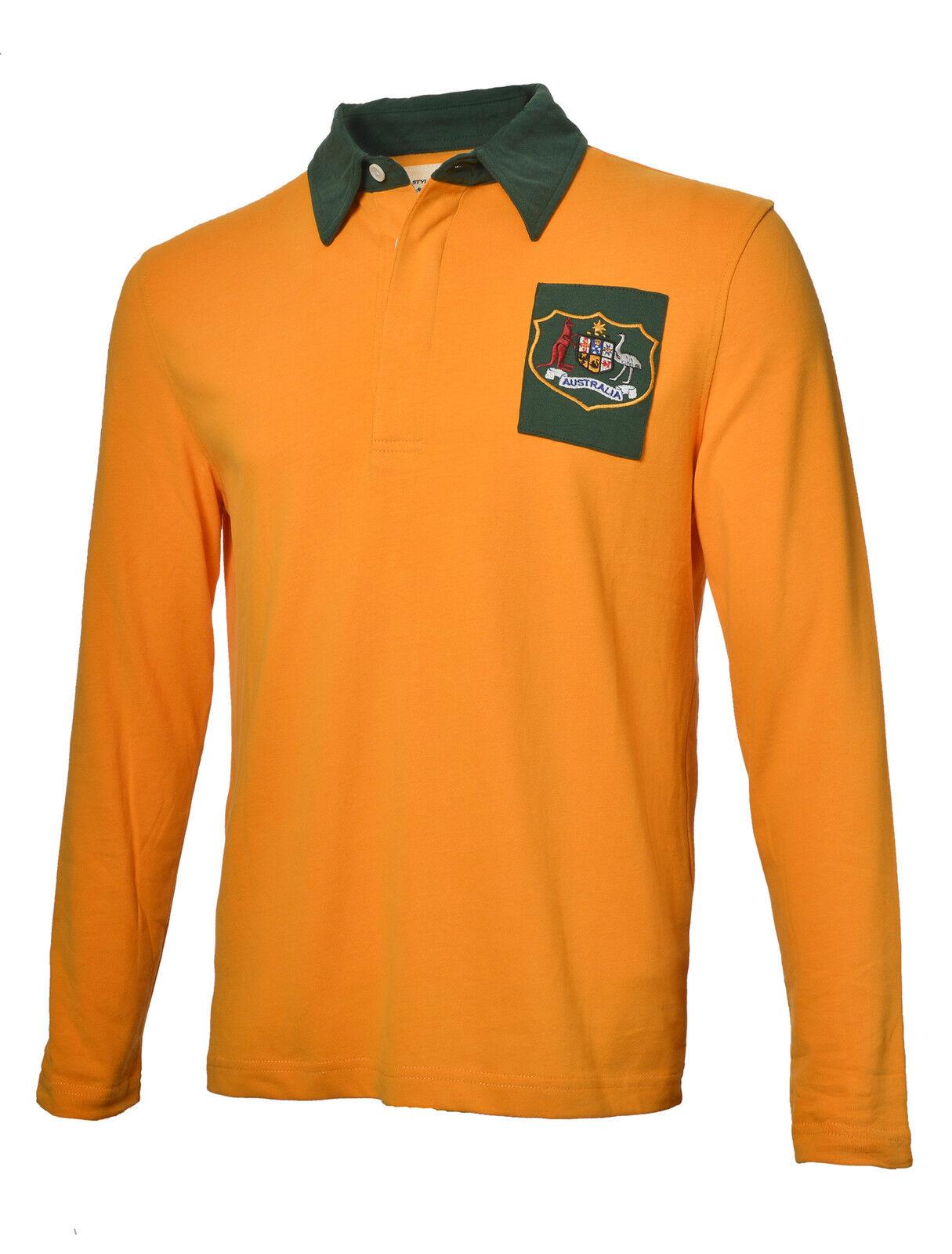 Olorun Authentic Rugby Classique Vintage Australie Chemise (S-4XL)