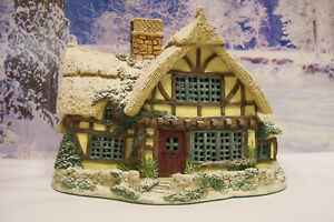 "Lilliput Lane Lamplight ""candlemaker's Cottage"" edición limitada de 1995. Reg. no 1287"