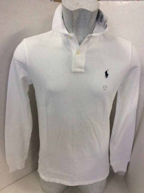 c13f9b05 Polo Ralph Lauren Custom Fit Mesh Mens Long Sleeve Polo-shirt Size XXL