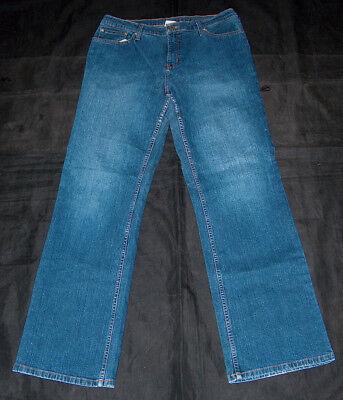 Sonoma Life + Stile Stretch Boot Cut Jeans Sz 12 Media Miss Classici 5 Tasche Nutriente I Reni Alleviare I Reumatismi