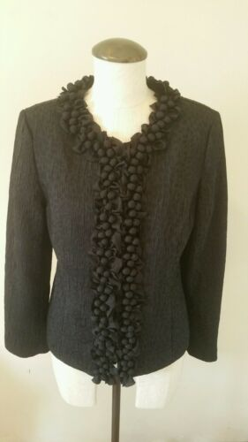 Holiday Knot foderata Occasion 0 Forget Black Me Chico's Occasion Giacca foderata Nwt twgvFqU