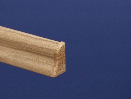 Leistenzubehör für Sockelleiste 40mm Classic Nussbaum Hell