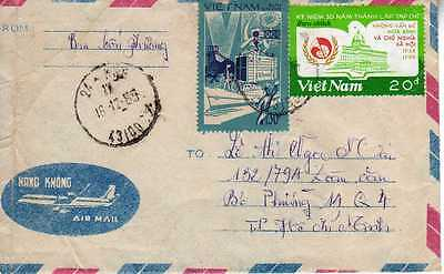 Other Asian Stamps Vietnam Lettre N° 57 Selected Material Asia