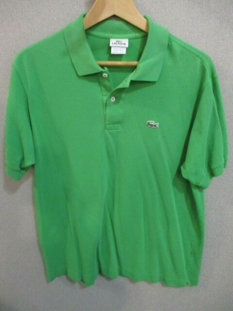 9aef4821ff Lacoste Polo Shirt Mens Size 7 Red Pique 5191L 2 Button Short ...