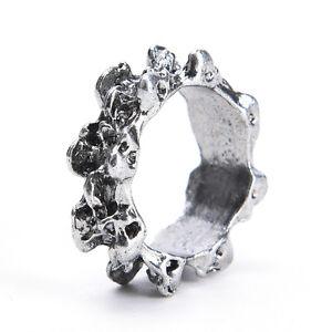 1x-Men-039-s-Gothic-Skull-Charm-Finger-Ring-Stainless-Steel-Punk-Biker-Jewelry-L-LD