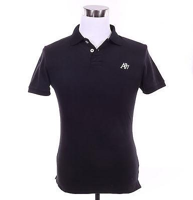 Aeropostale Men Solid Pique Logo A87 Polo Style 7990/4289 School Uniform $0Ship