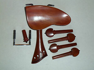 Set Boxwood French Style - BERBER - Compensated Tailpiece & Black Accents