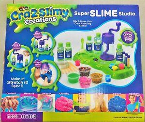 Kids-Childrens-Cra-Z-Slimy-Super-Slime-Studio-Present-Gift-Age-6