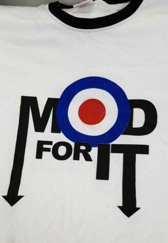 Homme Mod POUR ELLE T-Shirt Musique 60 S Classic Scooter Lifestyle Mode De Vie