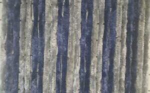 Explorer-Flauschvorhang-100x200-Tuervorhang-Chenille-Insektenschutz-silber-blau