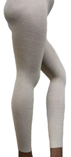 kbA-Baumwolle Leggings in Naturfarben Organic Cotton  Damenlegging Natur
