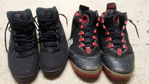 Rare Lebron Nike Men's Basketball shoes and AIR VISI PRO  Size  7 and Size 8.5