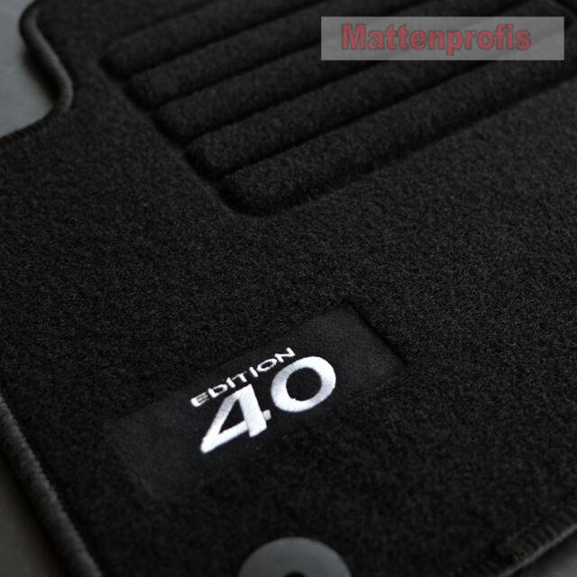 05//2012 Fußmatten im Schweden-Design für Volvo V40 ab Bj