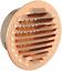 miniature 1 - La ventilation gtrp100r-y Grille ronde à encastrer, cuivre, 125 mm, Cuivre