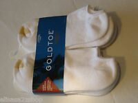 Goldtoe 6 Pack Pair White Socks 656f Mens Cushioned Durable Comfort Fit 83192