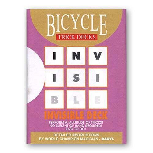 Carte Bicycle Invisibile - Invisible Deck