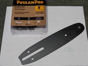Poulan 2 Pack Of Genuine OEM Replacement Chain Saw Bars # 530044908-2PK