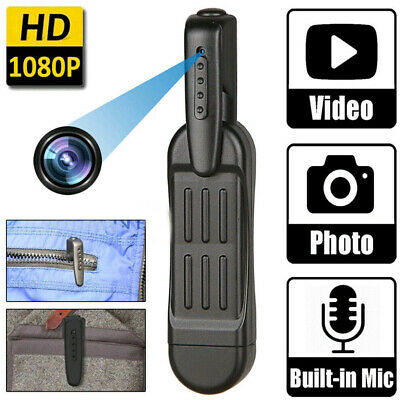 1080p HD caméra stylo de poche caché mini enregistreur DVR de corps portable