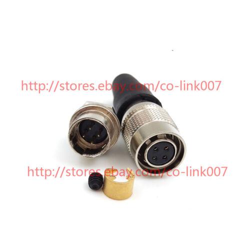 Pour Hirose Connecteur HR10A-7P-4P HRS 4pin mâle industriel Caméra Power Plug