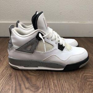 Nike Air Jordan 4 Retro OG GS White