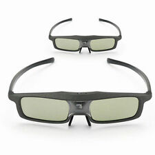 2x SainSonic 3D IR Active Rechargeable Glasses For  Any DLP-Link Projectors