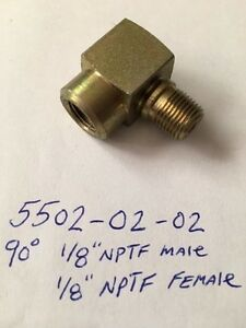 1-8-Hex-90-Nipple-Coupling-Steel-Pipe-Fitting-NPT-Adapter-Male-Thread-Fuel-Auto