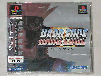 *Complete* PS1 Game HARD EDGE NTSC-J Japan Import PlayStation