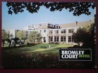 POSTCARD KENT BROMLEY - BROMLEY COURT HOTEL (1)