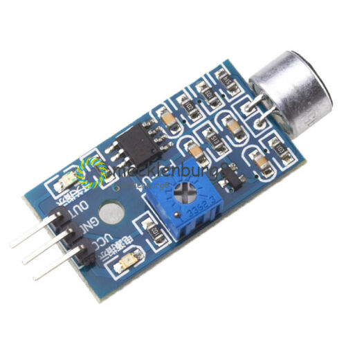 2Stks Microphone Sensor Sensitivity Sound Voice Module für Arduino Smart Car New