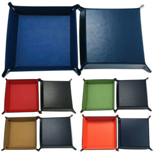 Dice-Tray-PU-Leather-Folding-Dice-Holder-Red-Velvet-for-DND-Dice-Table-Ga-ADC