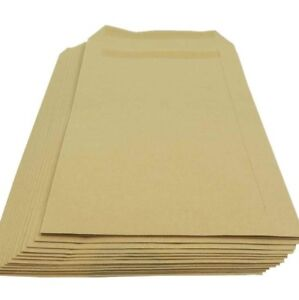 Strong-Postal-A4-C4-A5-C5-Plain-No-Window-Self-Seal-Manilla-Brown-Envelopes