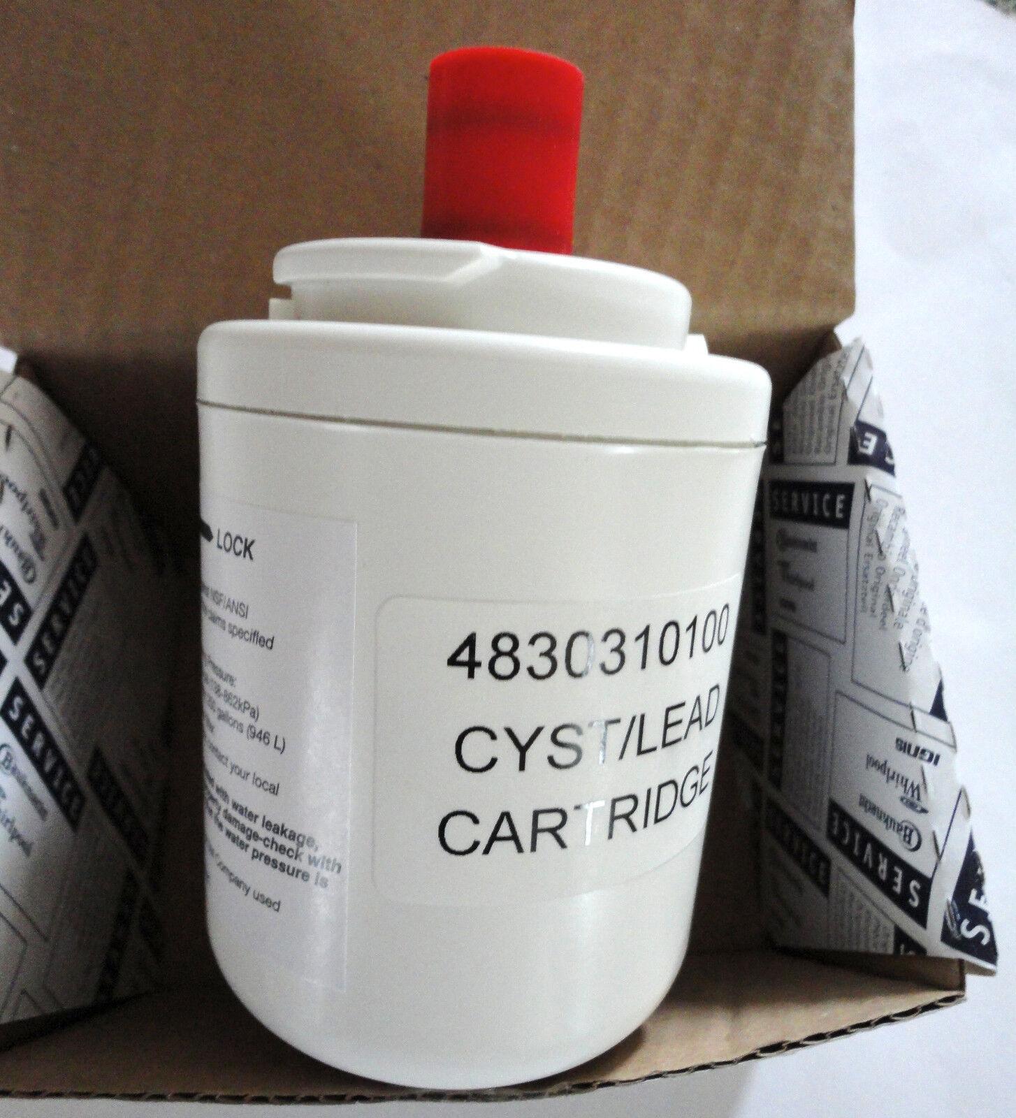 Replacement refrigerator fridge water filter - Leisure 4830310100 4346610101
