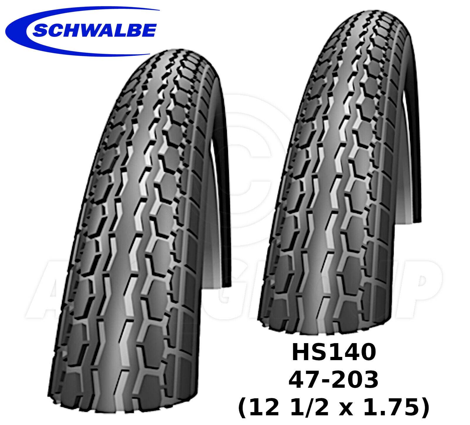 Schwalbe HS140 47-203 (12 1 2 X 1.75) - Stoß  Stuhl,Kinderwagen Reifen (K-Schutz)  discount sales