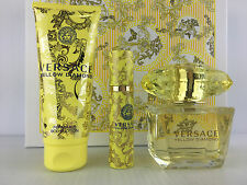 Yellow Diamond 3 PC Gift Set With 3.0 Oz by Versace for Women | eBay