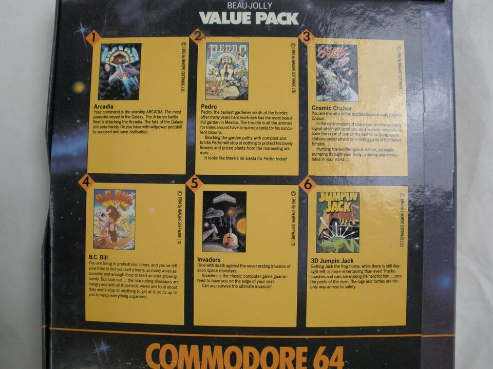 6 Great Computer Games, Commodore 64