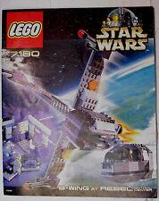 Lego Star Wars > Set 7180 B-Wing AT Rebel Control Center Komplett + Bauanleitung