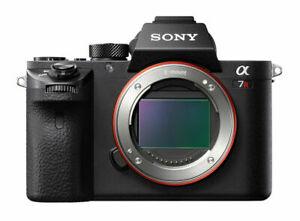 Sony-Alpha-A7R-Mark-II-ILCE-Mirrorless-solo-corpo-della-fotocamera-digitale-nero