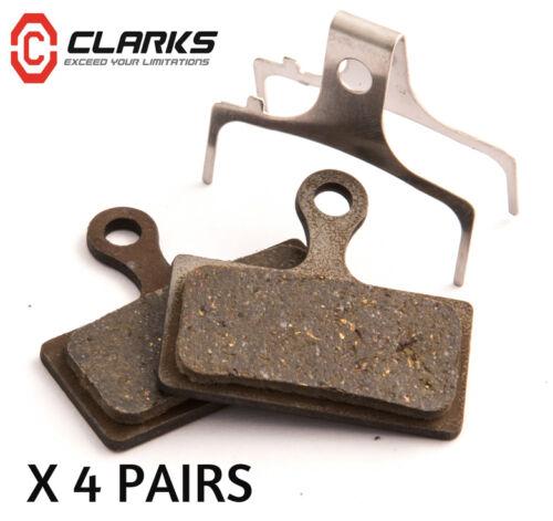 4X VX852C CLARKS M2 Disc PADS ORGANIC