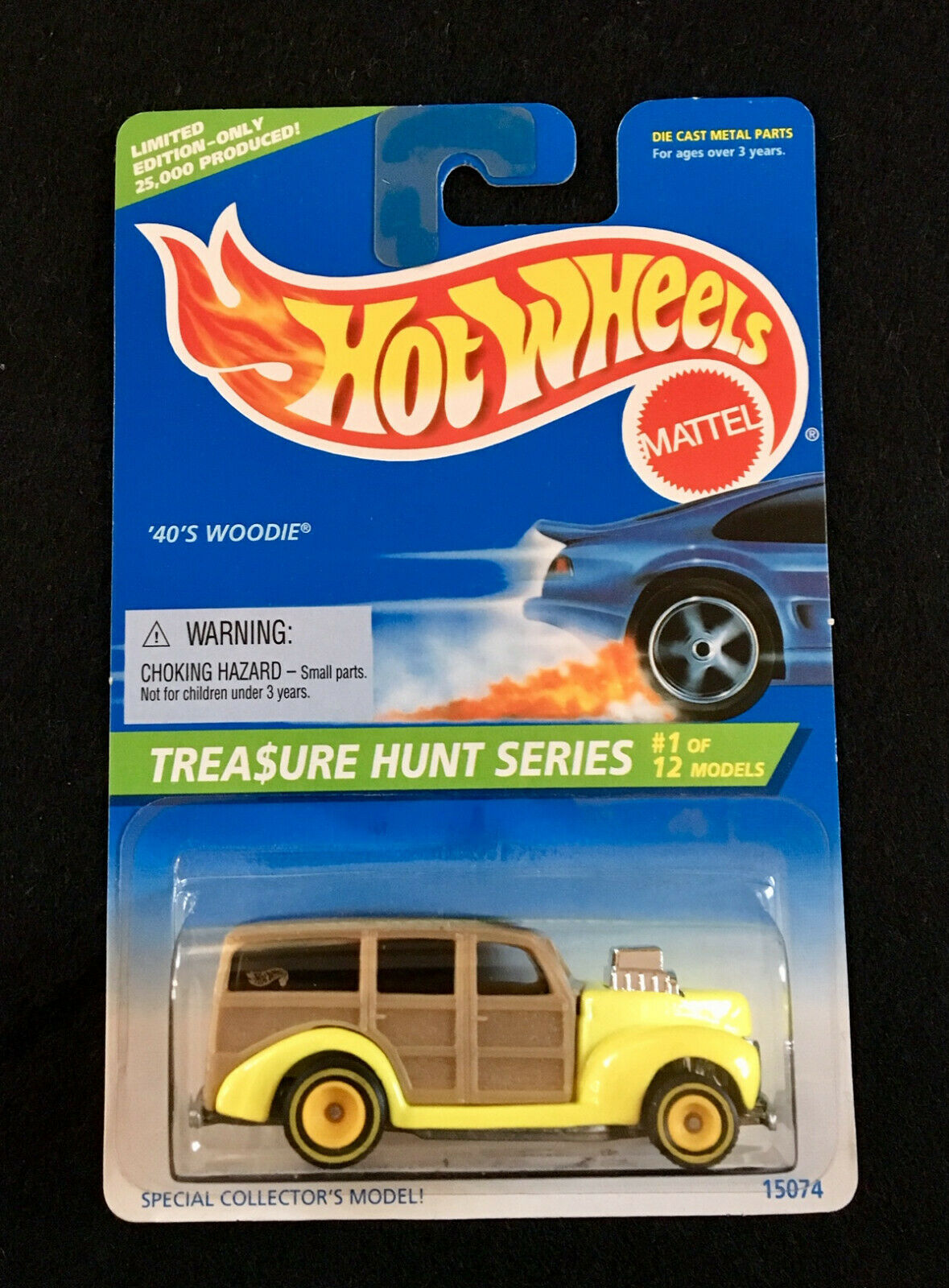 1996 Hot Wheels Treasure Treasure Treasure Hunt Series '40's Woodie of 12 Collector 8b944a