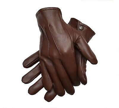 Men/'s Leather Costume Dress Gloves Unlined Medieval Formal Victorian Steampunk