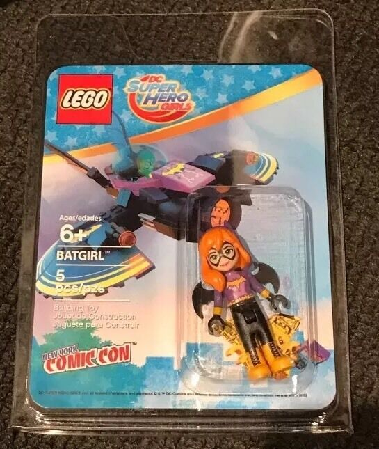 NYCC 2016 Lego Exclusive Bat Girl Girl Girl New York Comic Con Ds Dc Gift 60686f