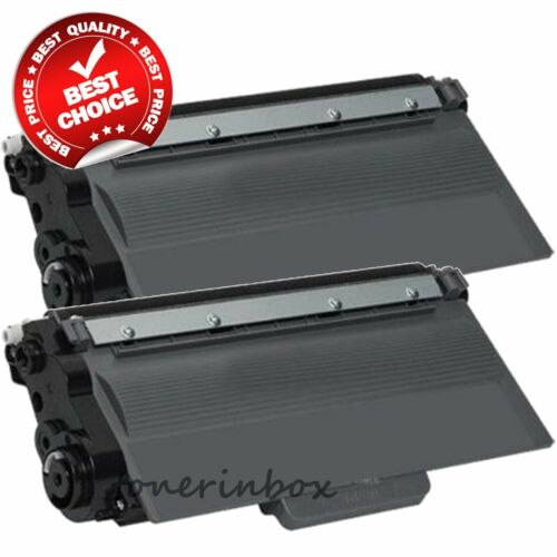 2pk TN750 TN720 Toner Cartridge For Brother HL-5440D HL-5470DW HL-6180DW